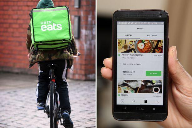 Cadastro Entregador Uber Eats