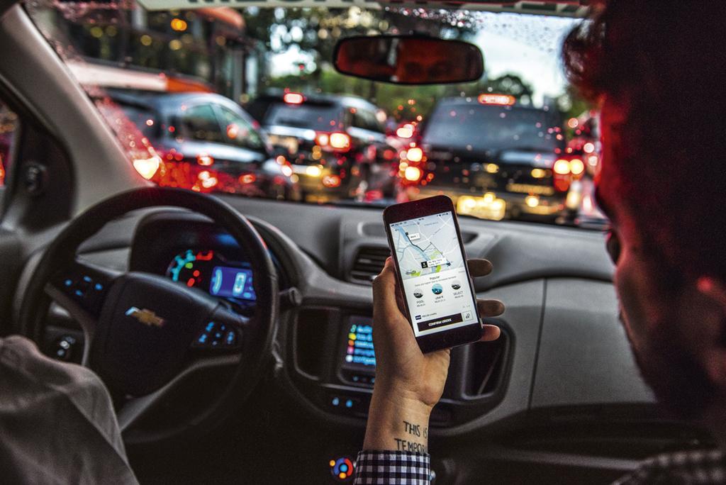 motorista uber São Paulo