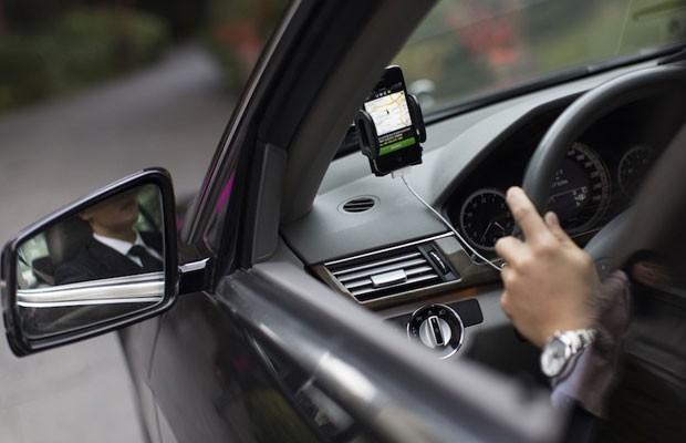 Contato Uber pelo aplicativo