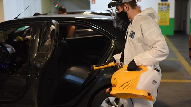 limpeza de veículos uber