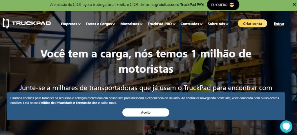 TruckPad: Conheça o aplicativo de fretes e cargas. Vale a pena?